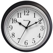 "9"" Decorative Wall Clock (Black)"