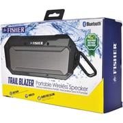 Fisher FBT550S Trail Blast Bluetooth Speaker (Silver)