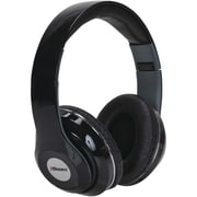 2BOOM HPBT380K Epic Jam Bluetooth Over-Ear Headphones with Microphone (Black)