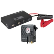 Jump Deluxe Car Battery Charging System with Air Compressor & USB Ports