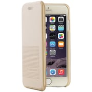 Tucano IPH7421-GL iPhone 7 Two-in-1 Booklet Case (Gold)