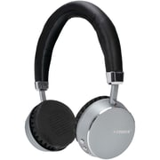 Fisher FBHP300K Noise-Isolating On-Ear Bluetooth Headphones with Microphone (Black)