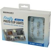 LED Firefly Photo Clip Lights, 15ft