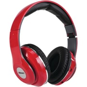 2BOOM HPBT380R Epic Jam Bluetooth Over-Ear Headphones with Microphone (Red)