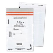 Quality Park Tamper-Evident Deposit Bags 12 x 16 White 100 per Pack( AZERTY7119)