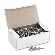 Gem Office Prods Aluminum Head Push Pins, Aluminum, Silver, 5/8'', 100/Box( AZERTY19256)