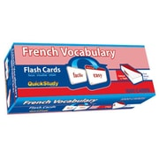 BarCharts French Vocabulary Flash Cards( BARCH4431)