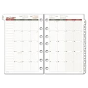 Day Runner Express Monthly Planning Pages Refill 8-1/2 x 11 (AZRDRN068685Y)