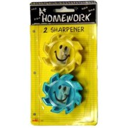 Bulk Buys Pencil Sharpeners, Novelty, 2 pack, Case of 48( DLRDY236462) by