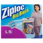 S C Johnson Big Bag Large Flexible Zipper Bag -5-Count( ATJ3065676)