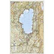 National Geographic Maps Lake Tahoe Basin Laminated (NAGGR090)