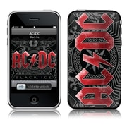 Zing Revolution iPhone 2G-3G-3GS- AC-DC- Black Ice Skin (MSCSK03101)