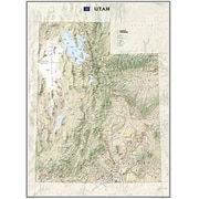 National Geographic Maps Utah State Wall Map Laminated( NAGGR057)