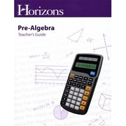 Alpha Omega Publications Horizons Pre-Algebra Teacher's Guide( APOP233)