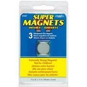 Master Magnetics Inc 3 Count Neodymium Disc Magnets( JNSN51915)
