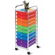 Honey-Can-Do International 10 Drawer Multicolor Storage Cart (HNY623)