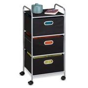 Honey-Can-Do International 3 Drawer Fabric Storage Cart (HNY622)