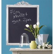 Wallies Wallcoverings BIG Peel & Stick Chalkboard Framed Slate Gray (WLWC017)