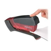 Accentra- Inc. Compact Stapler- 15 Sheet Capacity- Translucent Red-Black (SPRCH16069)
