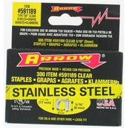 Arrow Fastener Co. .31in. X .31in. Black T59 Stainless Steel Staples (JNSN22516)