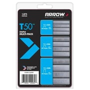 Arrow Fastener Co. T50 Staple Multi-Pack( JNSN70993)