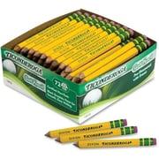 Dixon Ticonderoga Woodcase Golf Pencil, HB No.2, Yellow Barrel (AZTY04510)