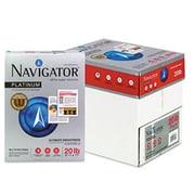 Navigator Platinum Paper- 99 Brightness- 20lb- 8-1/2 x 11- White- 2500/Carton( AZNAVINPL11205R)