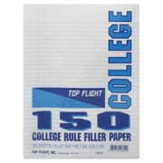 Moore Wallace Na Dba Tops Moore Wallace Na Dba Tops 62325 10.5 in. X 8 in. Wide Ruled Filler Paper 150 Count( JNSN64588)