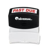 Universal One-Color Message Stamp Past Due Pre-Inked/Re-Inkable Red (AZRUNV10063)
