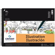 Canson 18 in. x 24 in. Artist Series Illustration Wire Bound Pad - 15 Sheet( ALV12698)