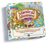 Alfred Musical Adventures Game- Game Cards and Board- Basic Group Piano Course- Level 1 - Music Book (ALFRD40603)