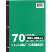 DDI Wireless Note Book - 70 sheets- WR - 10.5 in. x 8 in. Case Of 48 (DLRDY242101)