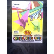 Bulk Buys Construction Paper - 96 sheets - 9 in. x 12 in. - Case of 24 (DLRDY236595)