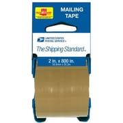 Lepages Inc 2in. x 800in. Brown USPS Mailing Tape With Palmguard Dispenser 83711B (JNSN8882)