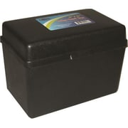 DDI Index Card Plastic Storage Box - 4 in. x 6 in. Case Of 36 (DLRDY257264)