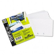 Durable TELINDEX Business Card Pocket Refill Two 2-7/8 x 4-1/8 Cards per Page 40 Pages (AZRDBL241819)