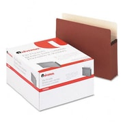 Universal 3 1/2 Expansion File Pockets Straight Redrope/MLA Letter Redrope 25 Pack (AZRUNV15343)