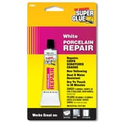 Super Glue Corp. Porcelain Repair - White- Pack of 12 (SUPGLUE044)