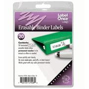 Jokari-US Erasable Binder Labels Refill- 20 labels (JKRI062)