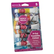 ColArt 22ml Gouache 5-Color Paint Set( ALV29386)