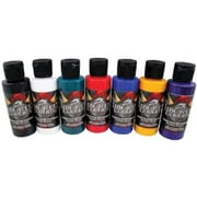 Wicked Colors Airbrush Paint Sampler 8-Color Set (ALV16176)