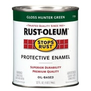 Rustoleum 1 Quart Hunter Green Protective Enamel Oil Base Paint (JNSN27237)