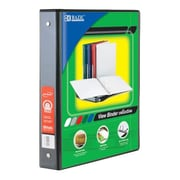 Bazic 2 in. White PVC 3-Ring View Binder with 2-Pockets- Pack of 12 (BAZC345)