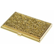Visol Visol Petra Solid Brass Womens Business Card Case( VISOL2821)