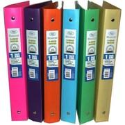 DDI Flexible Poly Binders - 1 in. Neon Colors Case Of 48 (DLRDY249825)