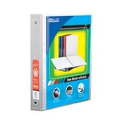 Bazic Products .5 in. White 3-Ring View Binder with 2-Pockets - Pack of 12 (BAZC1684)
