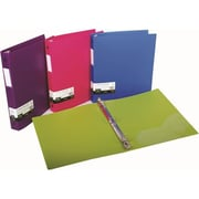 Filexec 3 Ring Binder, 1 Inch Capacity, Opaque, Letter size, Pack 4( FLXC011)