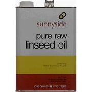 Sunnyside 873G1 Raw Linseed Oil In Meatl Can (TRVAL45628)