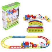 BlueBlockFactory Musical Horse Animal Friend and Train and Track Play Set 3 to 10 years old