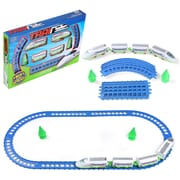 BlueBlockFactory Super Speed Train and Track Play Set